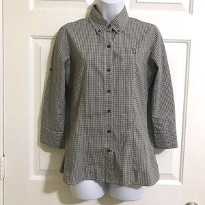Banana Republic Roll-tab sleeves Button Down Shirt